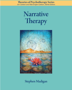 Stephen Madigan - Narrative Therapy